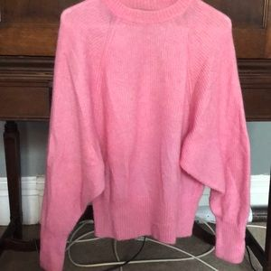EUC H&M mohair blend sweater, size 10